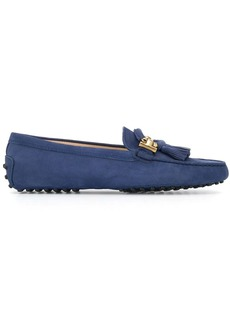 Tod's tassel upper loafers