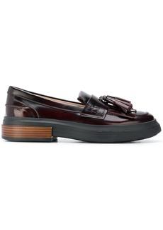 Tod's tasseled flatform loafers