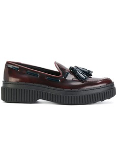 Tod's tasselled flatform loafers