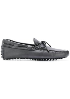 Tod's tie bow loafers