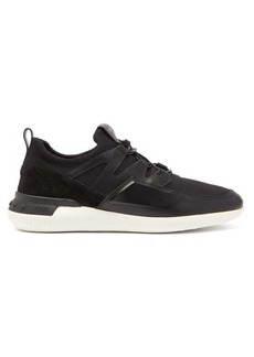 Tod's Active Sport Light 91B leather and suede trainers