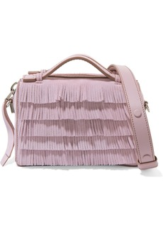 Tod's Bauletto micro fringed suede shoulder bag