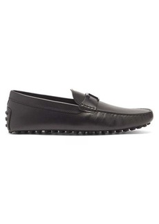 Tod's Benson T-logo leather loafers