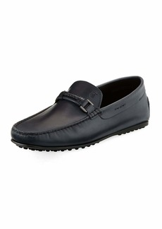 Tod's Braided-Bit Leather Loafer