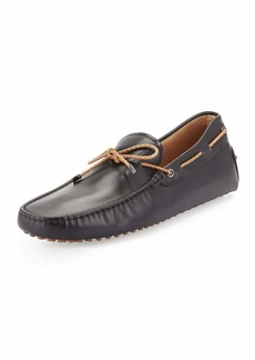 Tod's Braided Leather Driver