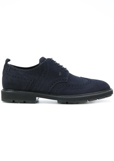 Tod's brogue shoes - Blue