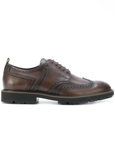 Tod's brogue shoes - Brown
