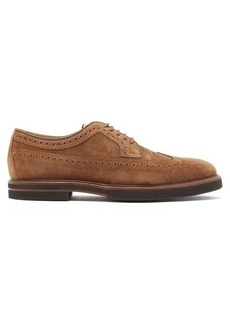 Tod's Brushed suede brogues