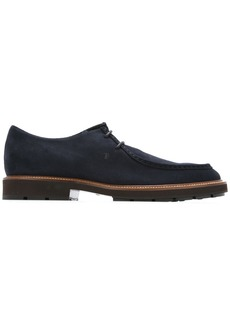 Tod's casual derby shoes - Blue