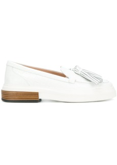 Tod's casual platform tassel loafers - White