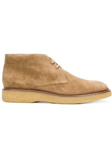 Tod's chunky sole desert boots - Nude & Neutrals
