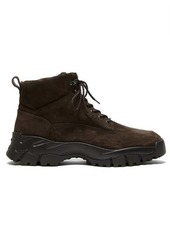 Tod's Chunky-sole suede hiking boots