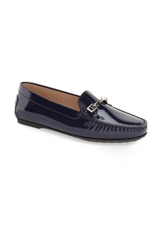 Tod's 'City Gommini - Leo' Patent Driving Moccasin (Women) (Nordstrom Exclusive)