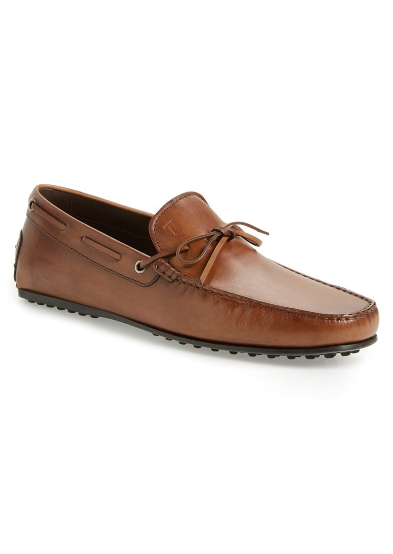 0422a44f5f1 Tod s Tod s  City Gommini  Tie Front Driving Moccasin (Men)