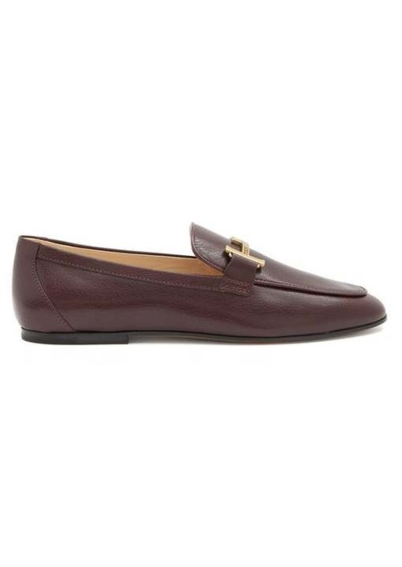 Tod's Double T-bar leather loafers