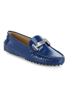 Tod's Double T Gommini Leather Drivers