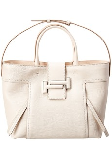 Tod's Double T Leather Tote