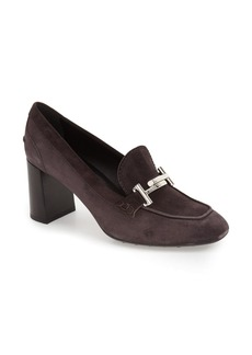Tod's 'Double T' Loafer Pump (Women)