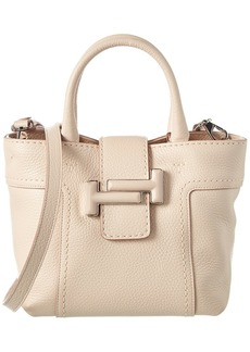 Tod's Double T Mini Leather Tote