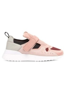 Tod's Exaggerated sole suede trainers