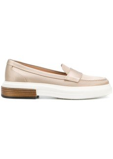 Tod's flatform loafers - Nude & Neutrals