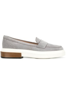 Tod's flatform penny loafers - Grey