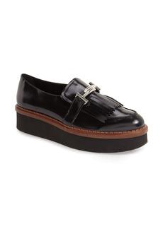 Tod's Fringe Platform Loafer (Women)