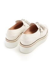 Tod's Fringed and tasselled leather creepers