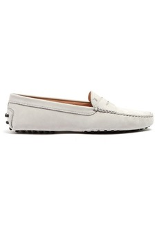 Tod's Gommini nubuck loafers