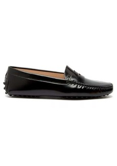 Tod's Gommini patent-leather loafers