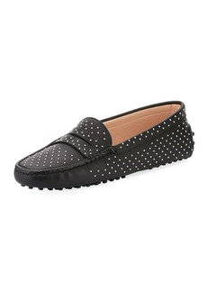 Tod's Gommini Studded Leather Loafer