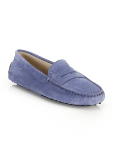 Tod's Gommini Suede Drivers
