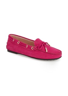 Tod's 'Gommini' Tie Front Driving Moccasin (Women)