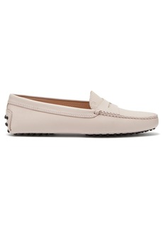 Tod's Gommino grained-leather loafers