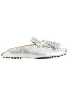 Tod's Gommino loafers - Metallic