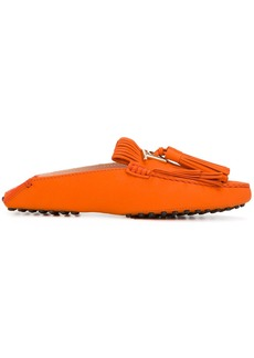 Tod's Gommino loafers - Yellow & Orange