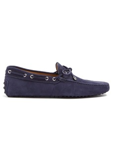 Tod's Gommino nubuck driving shoes