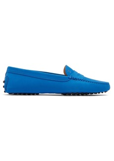 Tod's Gommino nubuck-leather loafers
