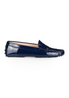 Tod's Gommino patent-leather loafers