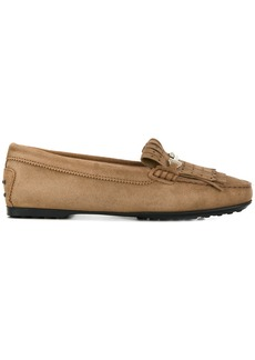 Tod's Gommino punctured fringe loafers