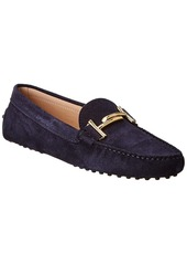 Tod's Gommino Suede Driving Shoe