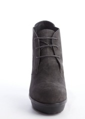 Tod's grey suede lace up oxford boots