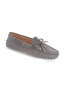 Tod's 'Heaven' Tie Front Driving Moccasin (Women)