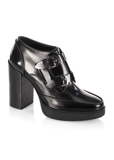 Tod's Heeled Double Monk-Strap
