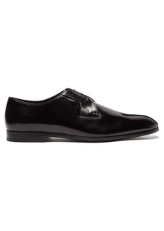 Tod's High-shine leather derby shoes