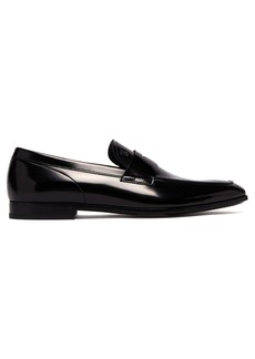 Tod's High-shine leather penny loafers