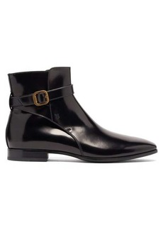 Tod's Janeiro buckle-strap leather boots
