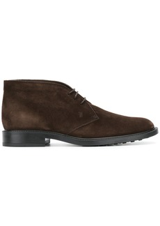 Tod's lace up boots - Brown