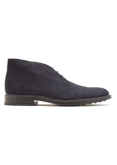 Tod's Lace-up suede desert boots