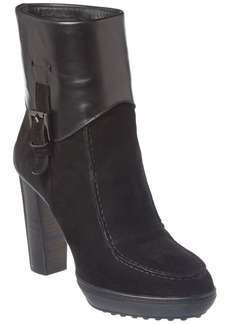 Tod's Leather & Suede Platform Boot